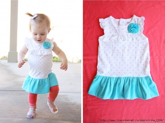 Шикарное платье для маленькой девочки-2 - клуб на осинке - осинка.