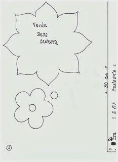 шаблоны для цветочной корзинки из фоамирана (2) (233x320, 29Kb)