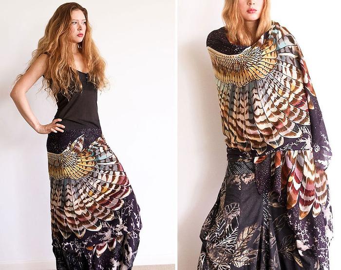 красивые женские платки 11 (700x556, 402Kb)