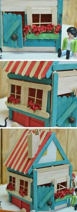 Сказочный домик из палочек от мороженого (7) (255x700, 202Kb)