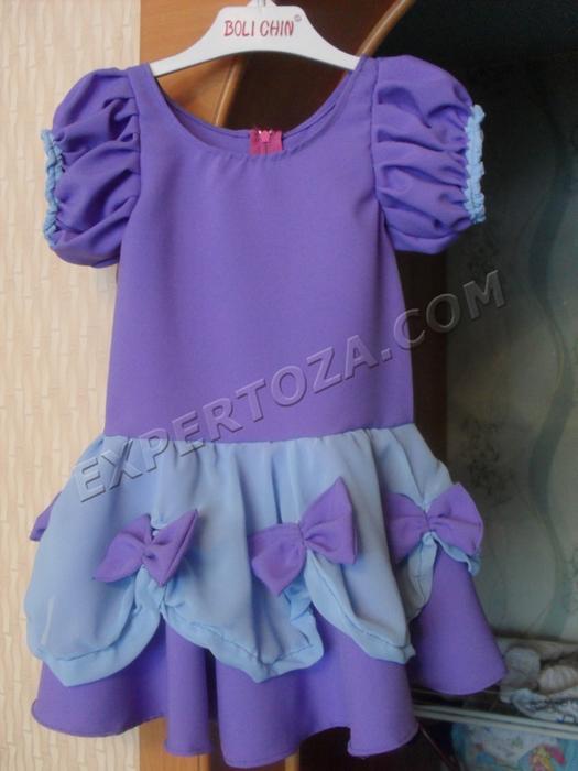 Шьем сами нарядное платье для девочки (1) (525x700, 373Kb)