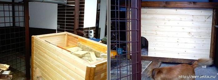 как построить будку для собаки (3) (700x258, 144Kb)