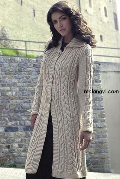 вязаное-пальто-с-косами (400x598, 83Kb)