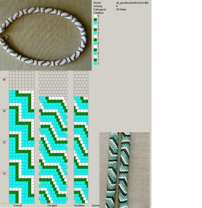 Вязание лариатов крючком