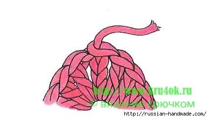 Шапочка МЫШКА с ушками для маленькой девочки (5) (427x244, 46Kb)
