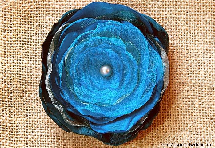 Цветы из шелка и органзы. Легкий способ создания (1) (700x480, 470Kb)