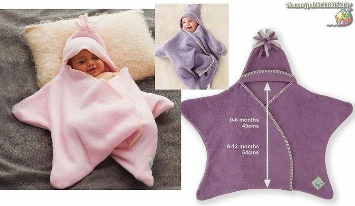 Сшить одежду для новорожденных своими руками