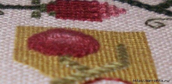 Спиральный шов в вышивке. Два фото мастер-класса (23) (556x273, 101Kb)