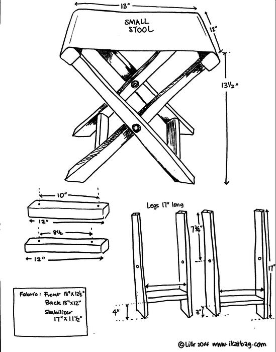 Как сделать раскладной стул для рыбалки своими руками чертежи 38