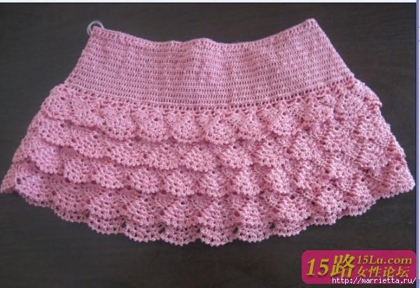 Ажурная юбочка крючком для девочки (13) (600x412, 179Kb)