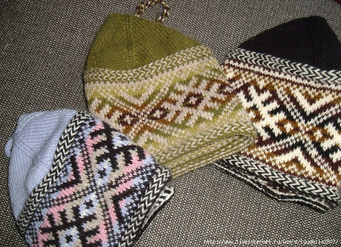 Estonian Sock Hat by Carolyn Vance (700x507, 404Kb)