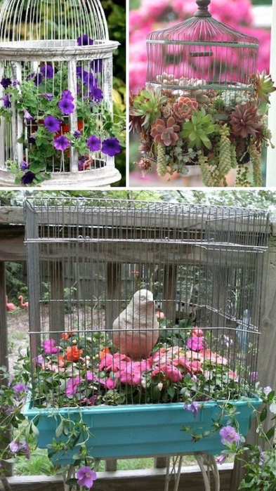 24-Creative-Garden-Container-Ideas-Use-bird-cages-as-planters-12 (393x700, 361Kb)