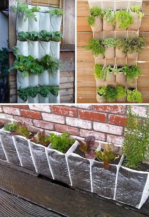 24-Creative-Garden-Container-Ideas-Use-hanging-shoe-racks-to-grow-a-vertical-garden-17 (481x700, 436Kb)