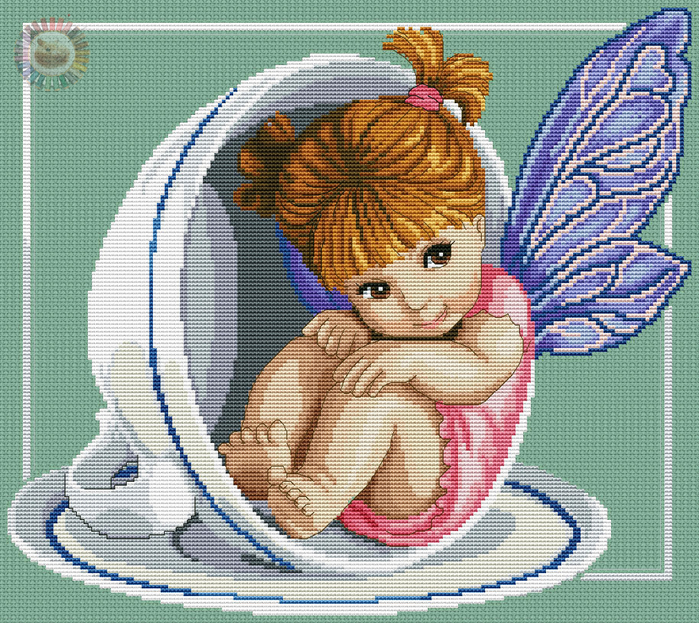 Teapot Fairy (700x623, 649Kb)