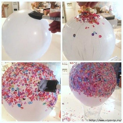 Ваза из конфетти и воздушного шарика1 (500x500, 164Kb)