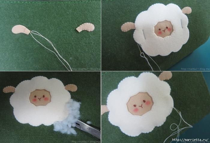 Шьем кошелек с аппликацией овечки (5) (700x477, 241Kb)