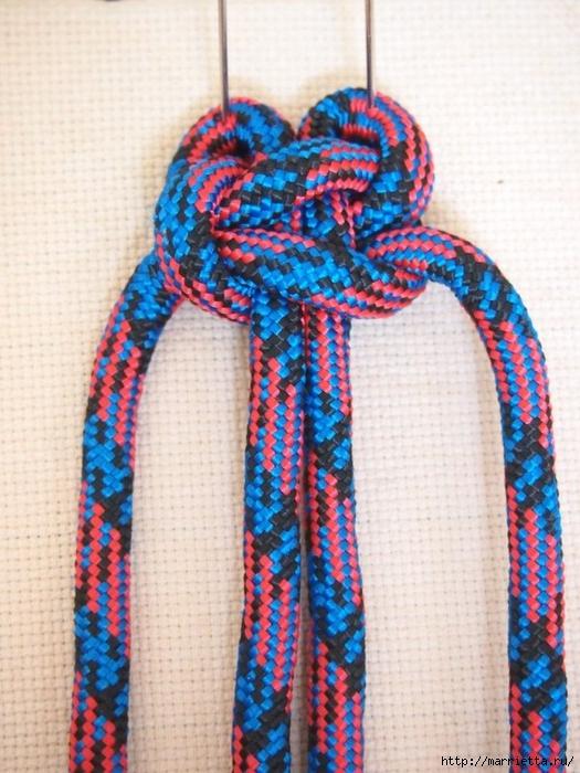 Плетение коврика из веревки (4) (525x700, 300Kb)
