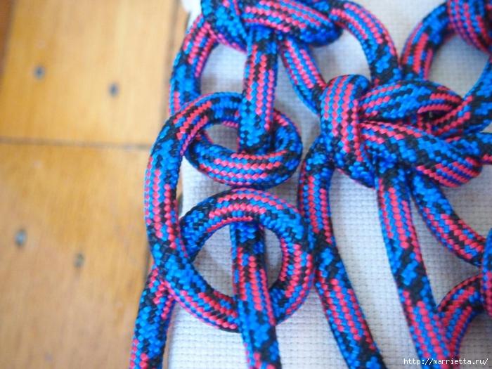 Плетение коврика из веревки (7) (700x525, 306Kb)