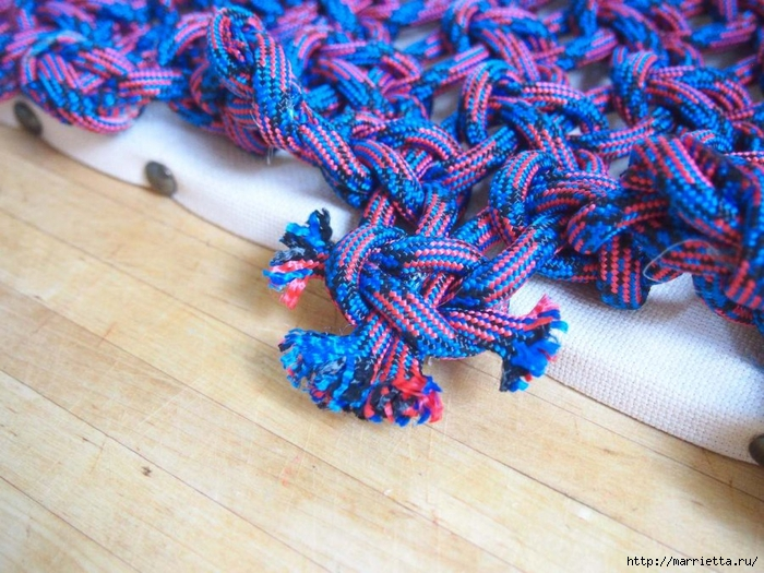 Плетение коврика из веревки (13) (700x525, 331Kb)