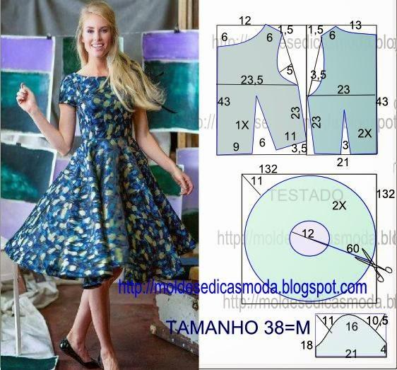 Как сшить из летнего платья юбку 139