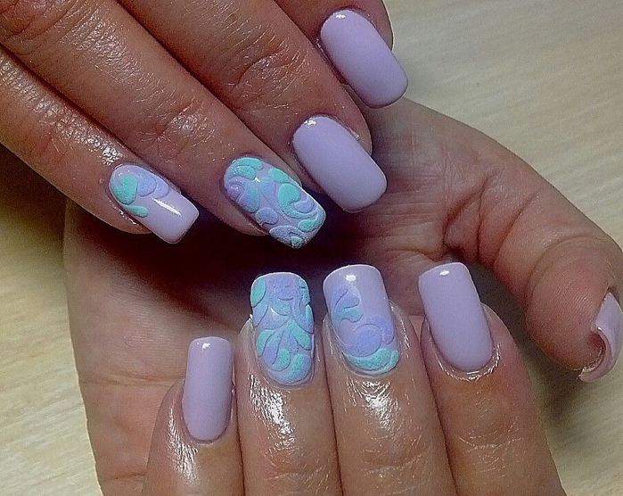 Самый модный дизайн ногтей фото