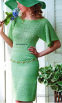 Вязание крючком платья светло-зеленого цвета. Обсуждение на LiveInternet - Российский Сервис Онлайн-Дневников
