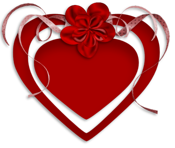 Клипарт. Красивые сердечки в png (14) (350x297, 82Kb)
