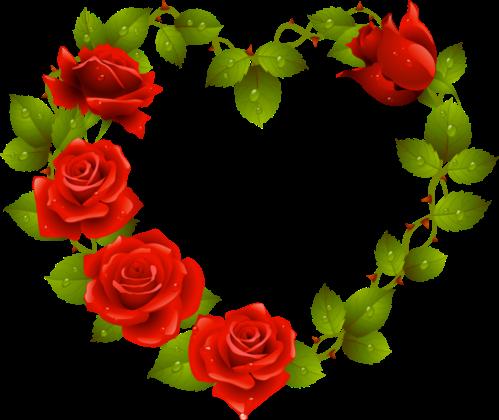 Клипарт. Красивые сердечки в png (31) (499x420, 185Kb)