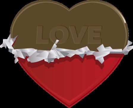 Клипарт. Красивые сердечки в png (33) (448x365, 77Kb)