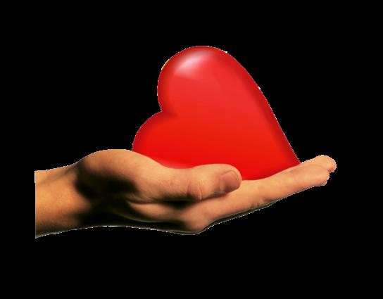 Клипарт. Красивые сердечки в png (35) (544x425, 129Kb)