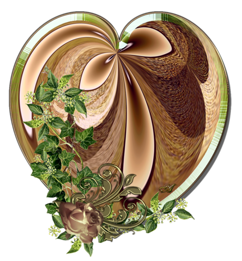 Клипарт. Красивые сердечки в png (57) (470x508, 471Kb)