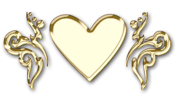 Клипарт. Красивые сердечки в png (60) (580x326, 158Kb)