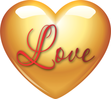 Клипарт. Красивые сердечки в png (64) (448x398, 178Kb)