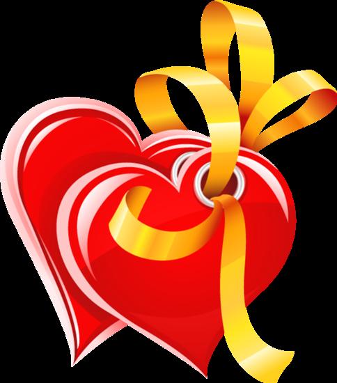 Клипарт. Красивые сердечки в png (70) (484x550, 168Kb)