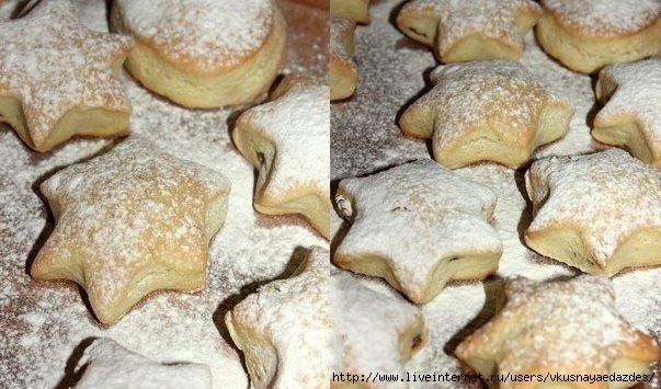 рецепт мягких печеньий