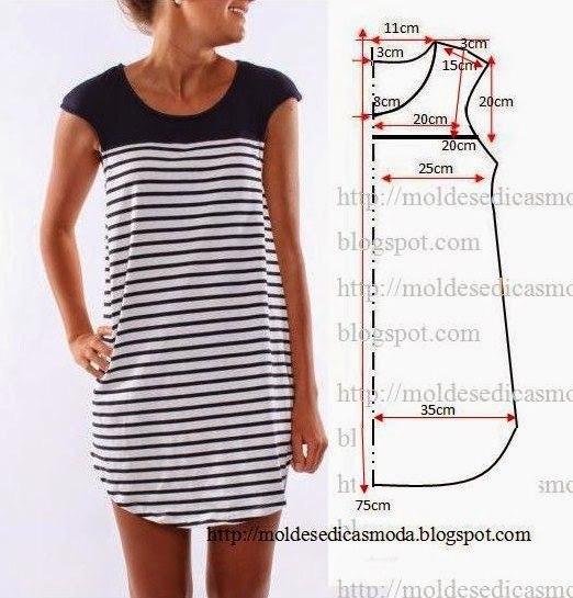 Сшить простое летнее платье своими руками для начинающих