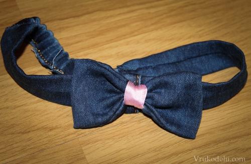 Банты из джинсы своими руками 57