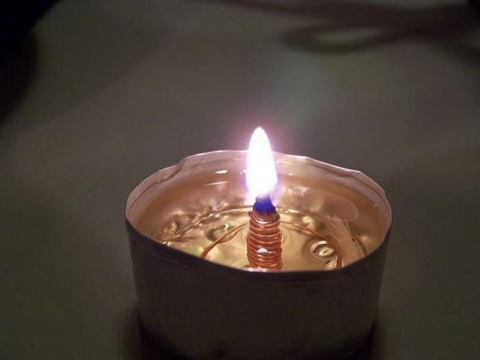 Лампа масляная своими руками