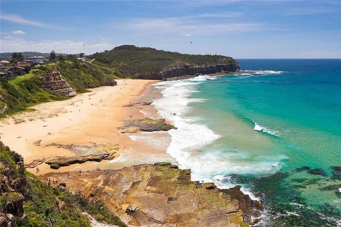 австралийский пляж туриметта фото 2 (700x466, 267Kb)