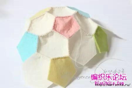 Как сшить футбольный мяч из фетра (15) (450x300, 43Kb)