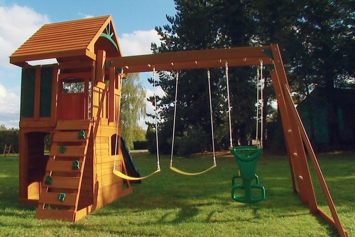Детские игровые площадки своими руками для дома