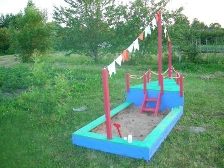 Поделки в садик на детскую площадку своими руками