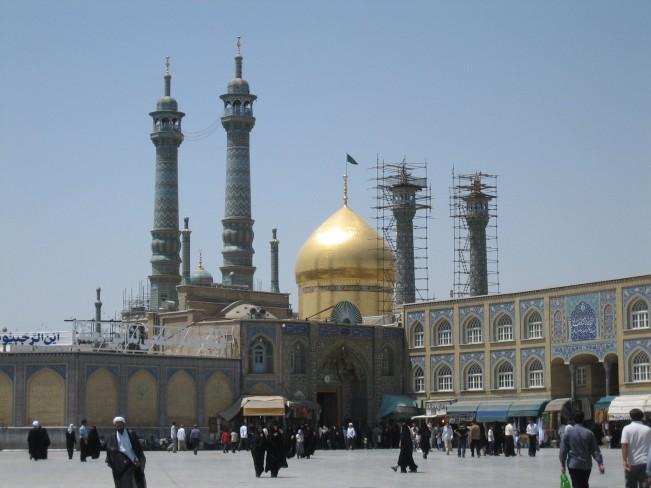 05 Shrine-Of-Fatemeh-Masoumeh-In-Qum-Iran- (651x488, 201Kb)