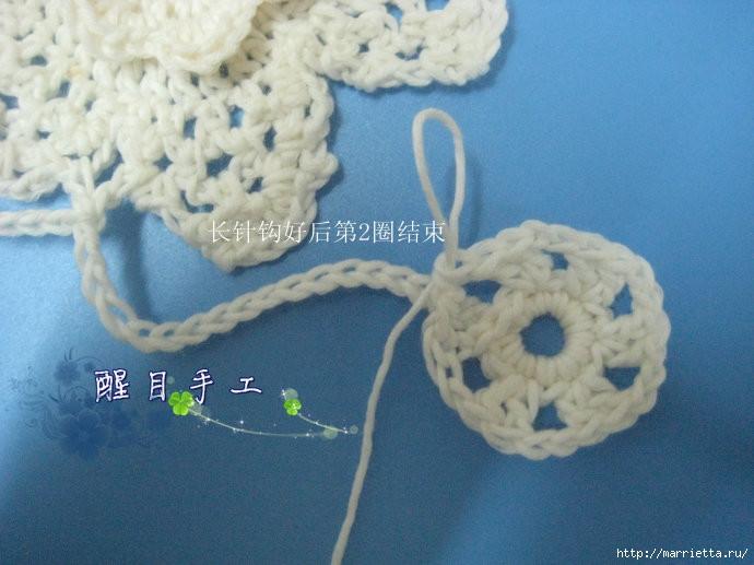 Плетение браслетов из бисера крестиком