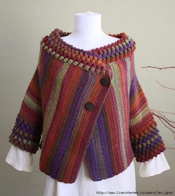 Мода стиль бохо боро вязание