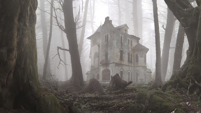 00_landscape_mist_forest_abandoned_house_picture_image_digital_art (700x394, 264Kb)