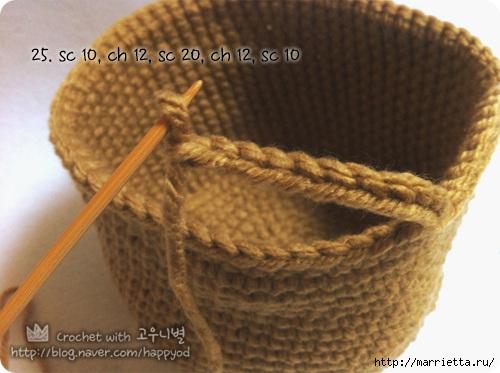 Как связать крючком сумочку - корзинку (16) (500x373, 123Kb)