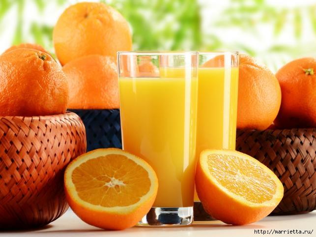 Лимонный и апельсиновый сок для красоты и здоровья (1) (643x482, 164Kb)