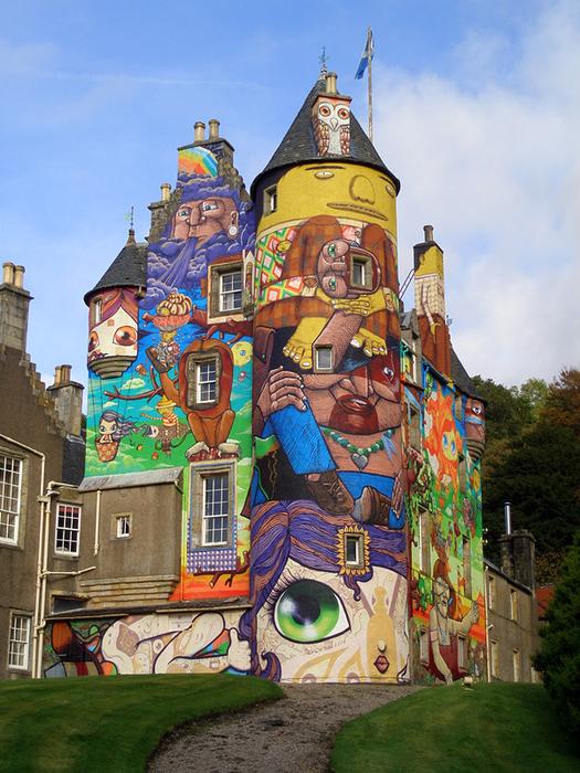 средневековый замок Кельбурн в шотландии 6 (525x700, 537Kb)