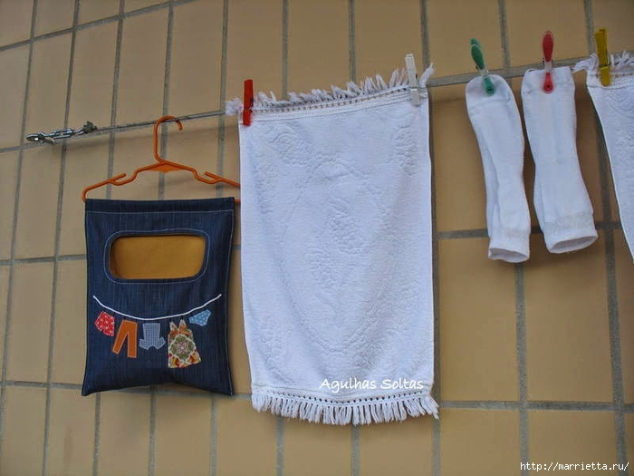 Шьем сумку для прищепок из старых джинсов (1) (700x525, 212Kb)
